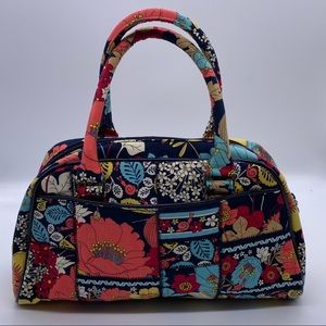 Vera Bradley Happy Snails Double Handle Bag